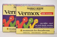 How long after taking vermox does the itching stop